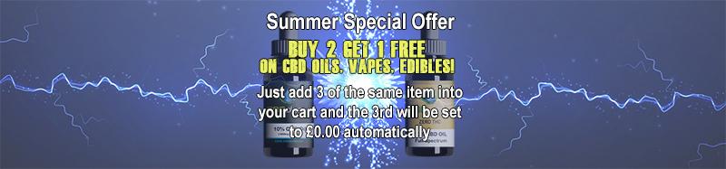Buy 2 Get 1 Free Summer Special Offer