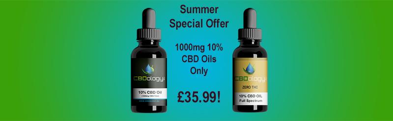 CBDology Summer CBD Special Offer